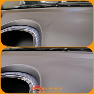 eliminazioni graffi plastica cruscotto fiat grande punto
