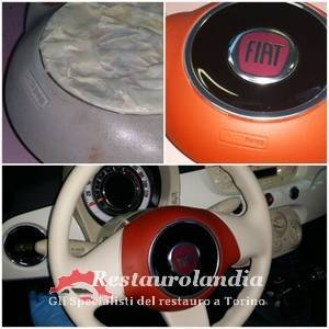 Verniciare il volante auto airbag